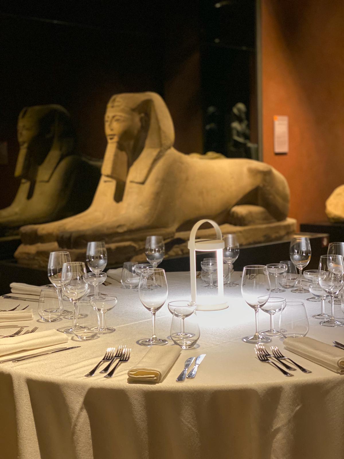 Al Museo Egizio il catering di La Credenza