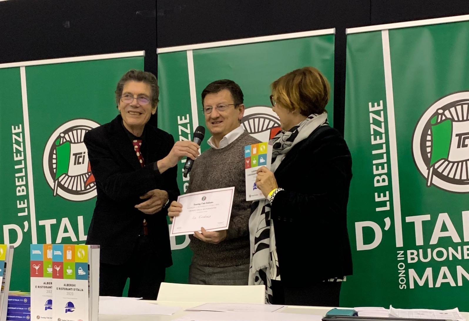 La Credenza e Casa Format premiati dal Touring Club Italiano
