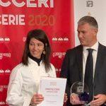 Chiara Patracchini premiata da Gambero Rosso