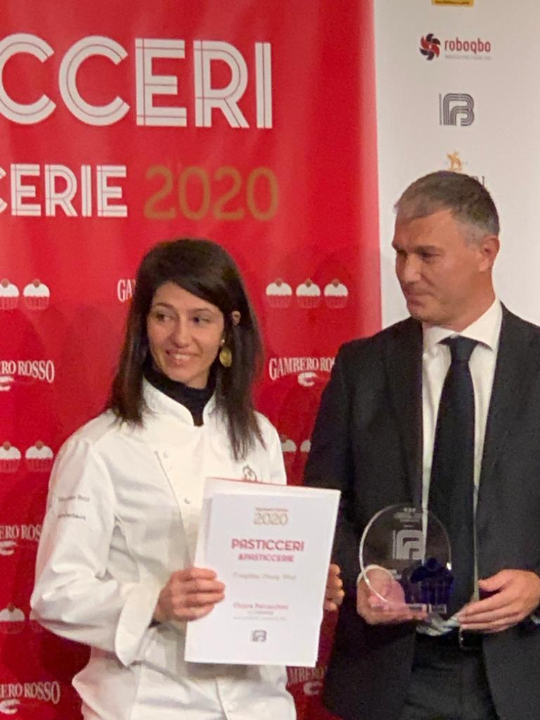 Chiara Patracchini premiata dal Gambero Rosso